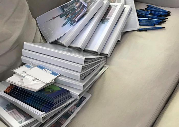 Photo of our workshop materials